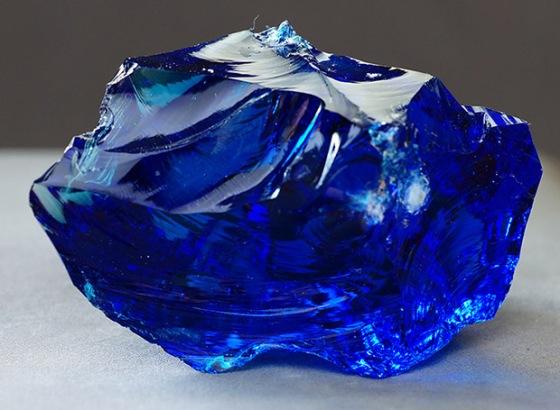 Uncut Sapphire